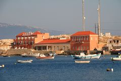 Hiona Art Hotel, Halki Royalty Free Stock Photo