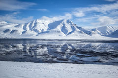 Hiorrthfjellet Imagem de Stock Royalty Free