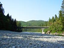 Hiouchi Brücke Lizenzfreie Stockfotografie