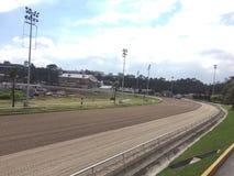 Hipódromo da pista de corridas Fotos de Stock Royalty Free
