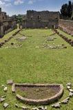 Hipódromo de Domitian-Palatine Monte-Roma Itália Fotografia de Stock