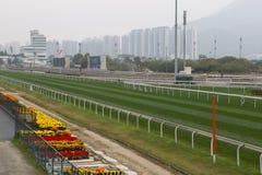 Hipódromo del estaño de Sha, Hong-Kong Imagenes de archivo
