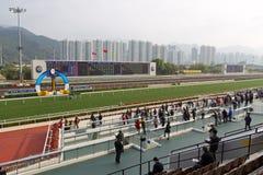 Hipódromo del estaño de Sha, Hong-Kong Fotografía de archivo libre de regalías
