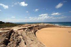 Hipódromo en Caesarea Fotos de archivo
