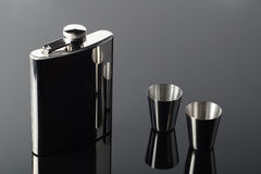 Hip-flask Royalty Free Stock Photo