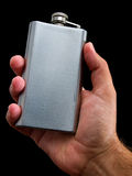 Hip flask Stock Photos