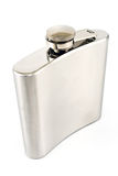 Hip flask for alcohol Royalty Free Stock Image
