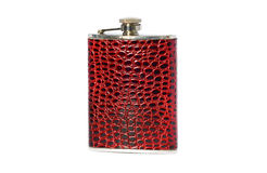 Hip flask Royalty Free Stock Photography