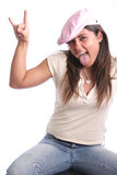 Hip Girl three Royalty Free Stock Photography