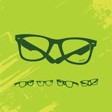 Hip Glasses Series Royalty Free Stock Photo