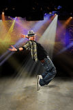 Hip Ho Dancer Performing Royalty Free Stock Photo