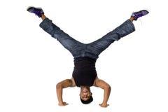 Hip Hop舞蹈家Breakdancing 免版税图库摄影