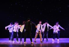 Hip Hop舞蹈 免版税图库摄影