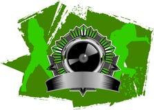 Hip Hop音乐符号 免版税图库摄影