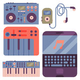 Hip hop accessory musician instruments  Royalty Free Stock Photography
