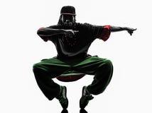 Hip hop acrobatic break dancer breakdancing young Stock Image