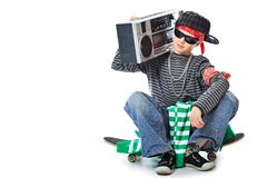 Hip-hop boy Stock Photo