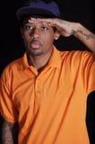 Hip-hop boy Stock Photos