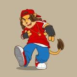 Hip hop cartoon Royalty Free Stock Photos
