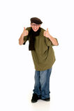 Hip hop culture, teenager Royalty Free Stock Photography