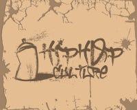 Hip Hop-Cultuurgraffiti vector illustratie