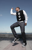 Hip hop dance Stock Photos
