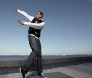 Hip hop dance Royalty Free Stock Images