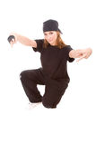 Hip-hop dancer Stock Photography