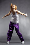 Hip-hop dancer Stock Photo