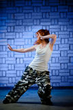 Hip hop dancer Stock Image