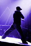 Hip hop dancer. A cool hip hop dancer royalty free stock images