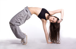 The hip-hop dancer Stock Photo