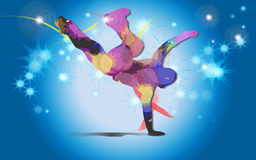 Hip Hop Dancer Stock Images