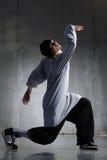 Hip-hop dancer royalty free stock photos