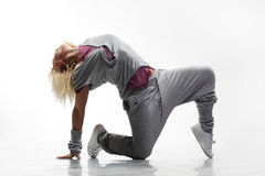 Hip-hop dancer Royalty Free Stock Photography