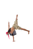 Hip hop dancer Royalty Free Stock Images