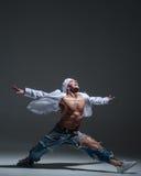 Hip-hop dancer Stock Image