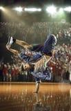 Hip-Hop dancer  challenge Royalty Free Stock Photography