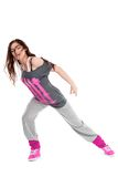 Hip-hop dancer girl Stock Photos