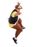 Hip Hop dancer jumping Stock Photography