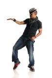Hip Hop Dancer performing Stock Photo