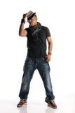 Hip Hop dancer performing Stock Image