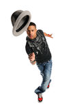 Hip Hop Dancer Performing Royalty Free Stock Photography