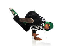 Hip Hop Dancer Performing Royalty Free Stock Photos