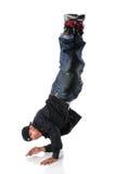 Hip Hop Dancer Performing Stock Photography