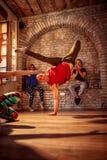 Hip hop dancer performing. Moves Stock Image