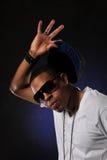 Hip Hop dancer's portrait Royalty Free Stock Photography