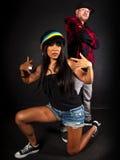 Hip hop dancer series Royalty Free Stock Photos