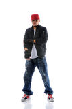 Hip Hop Dancer Standing Royalty Free Stock Image
