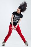 Hip-hop dancer Royalty Free Stock Photos
